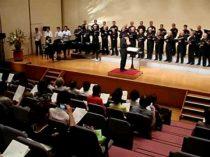 平和展での全員合唱