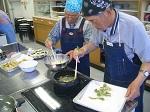 「男の料理教室」が実施されました