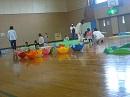 「体育遊具で遊ぼう」が開催されました